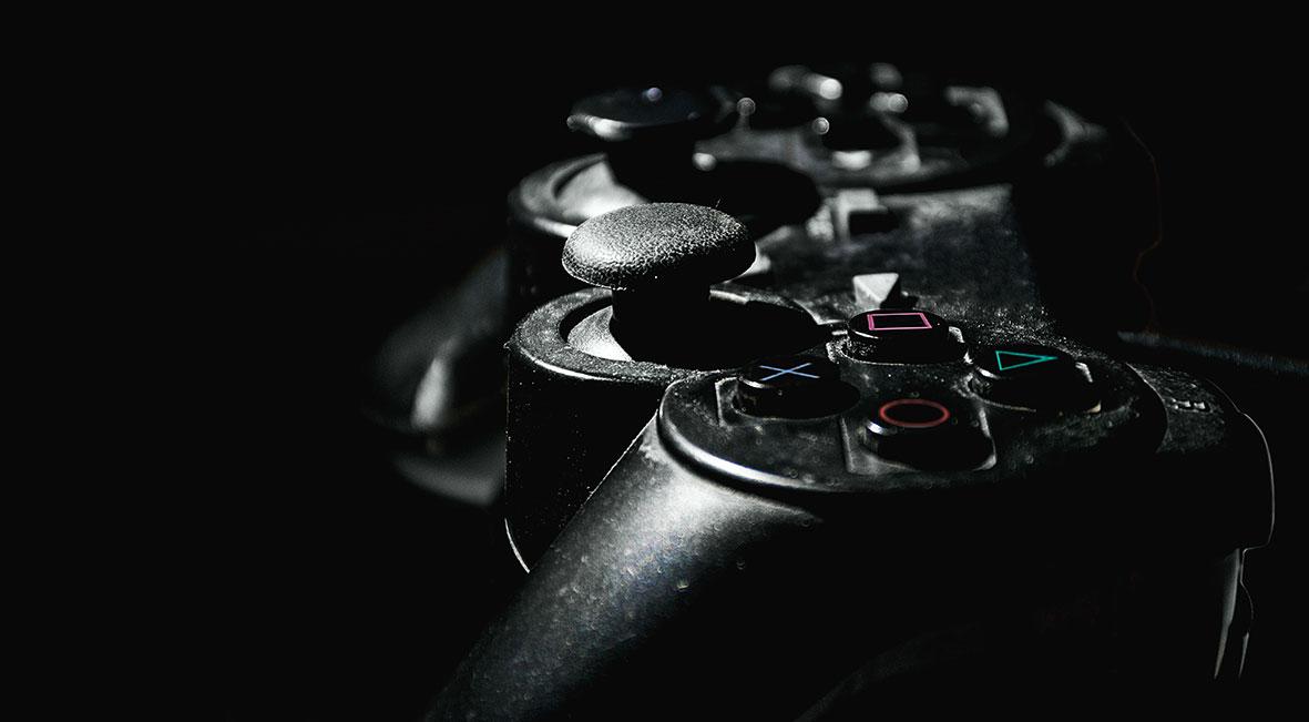 Esempio di controller per videogiochi.