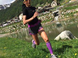 Ivana Iozzia si allena in montagna e sui libri di tedesco con la stessa efficacia.