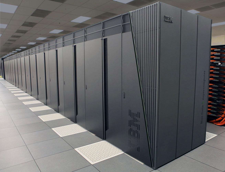 Esempio di supercomputer IBM: i Big Data e sistemi per la loro analisi sono fra le tecnologie più richieste.