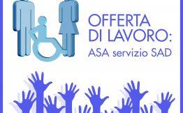Offerta di lavoro ASA con servizio SAD nei territori di Carugo, Inverigo, Lurago, Mariano Comense, Arosio, Cabiate.