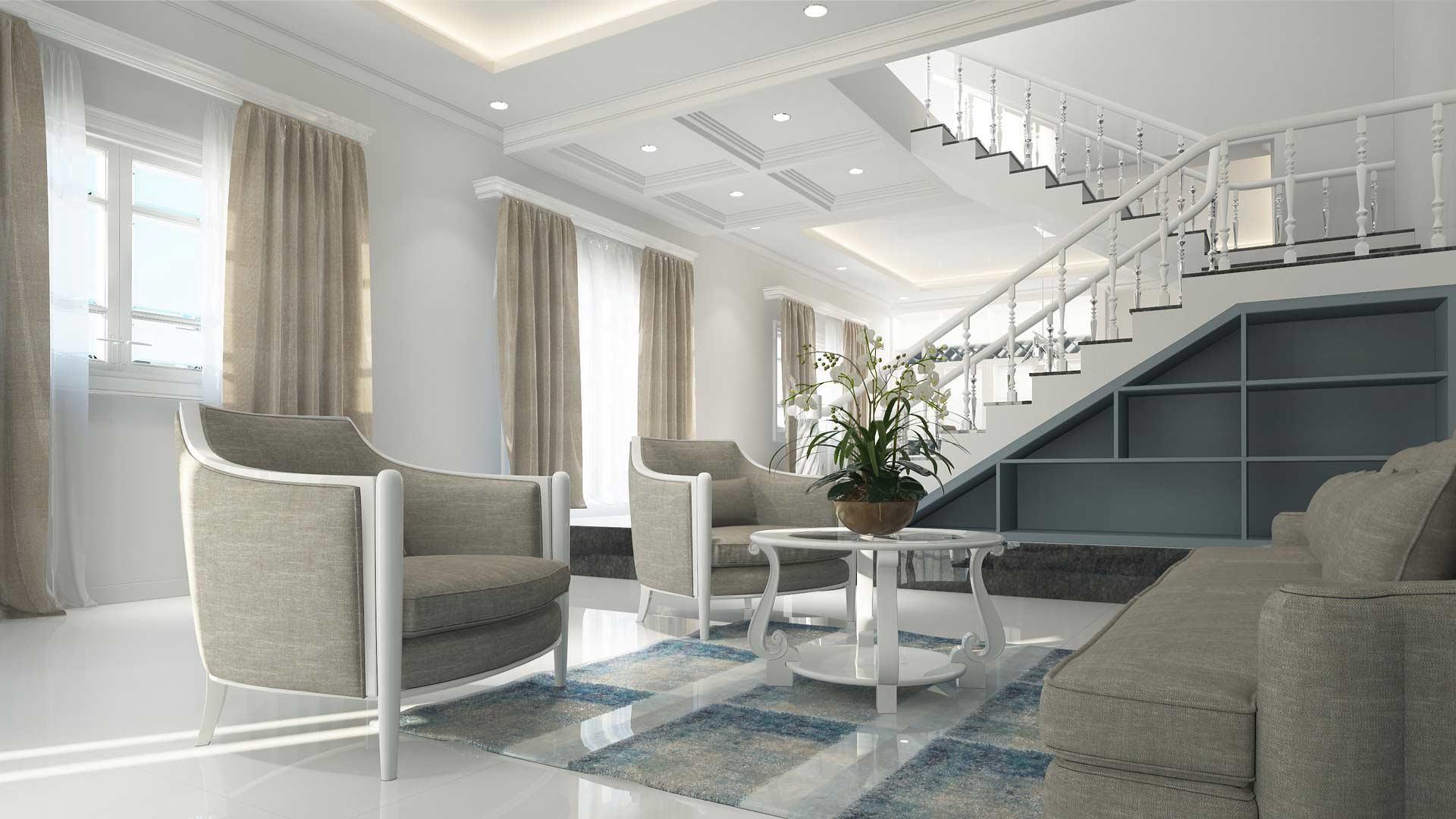 Il rendering 3D è un alleato indispensabile per l'interior design e l'arredamento.